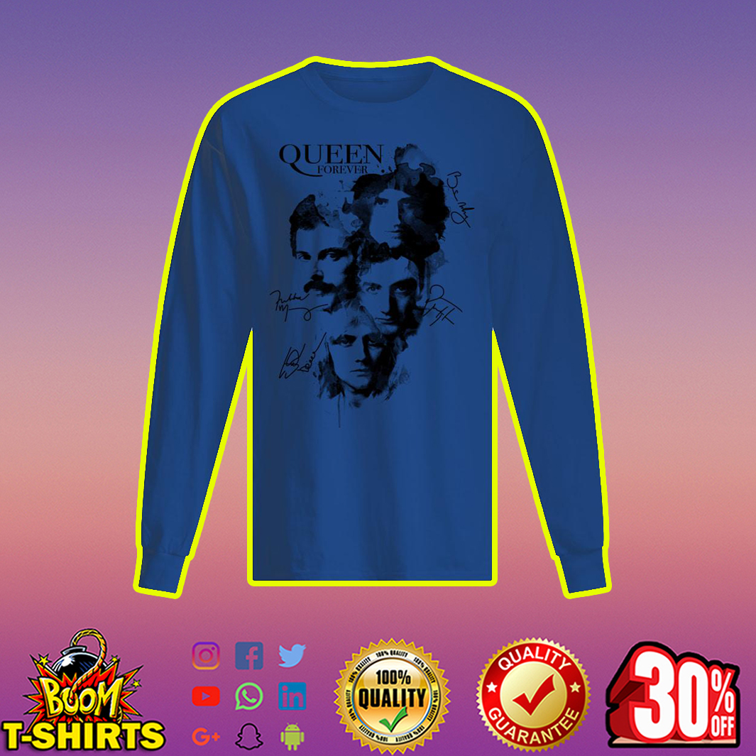 Queen Forever Signature longsleeve tee