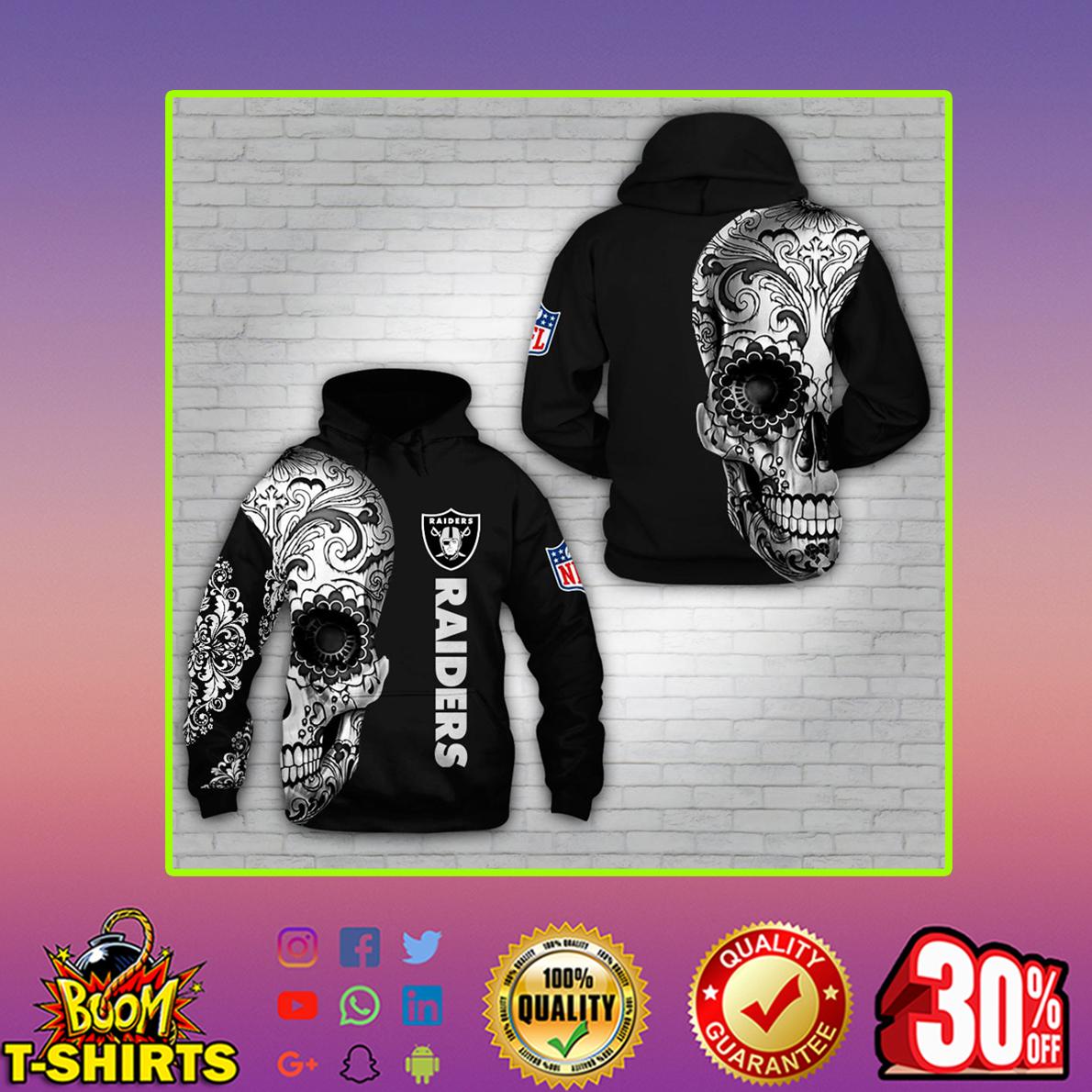 Skull Raiders 3d Hoodie