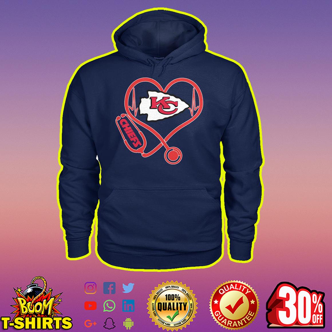 Stethoscope Kansas City Chiefs hoodie