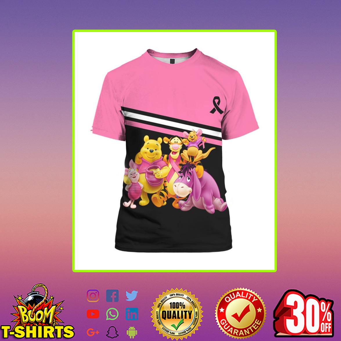 Winnie the Pooh Breast Cancer 3d shirt