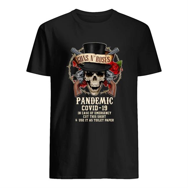 Guns n' rose pandemic covid 19 shirt