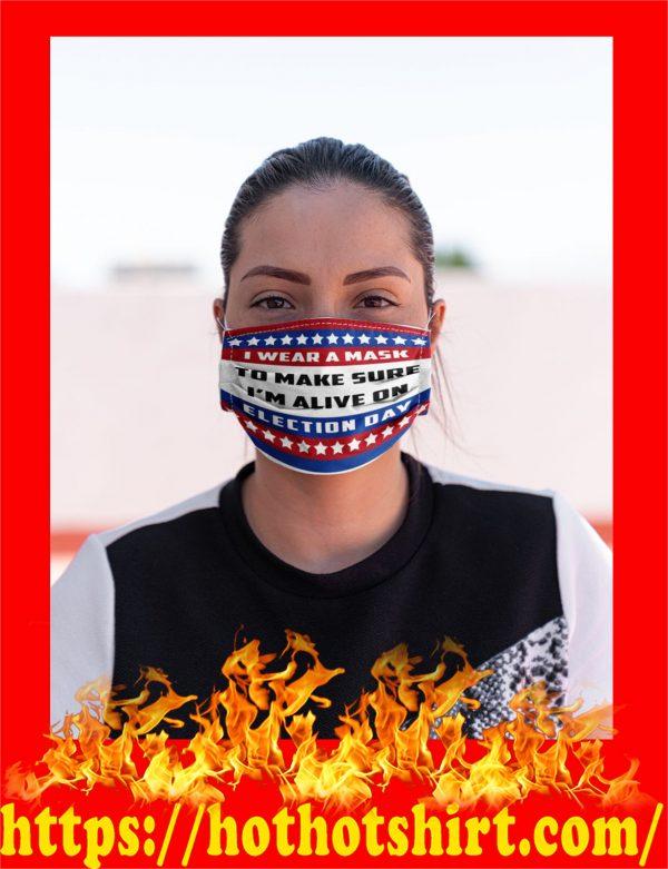 I wear a mask american flag face mask