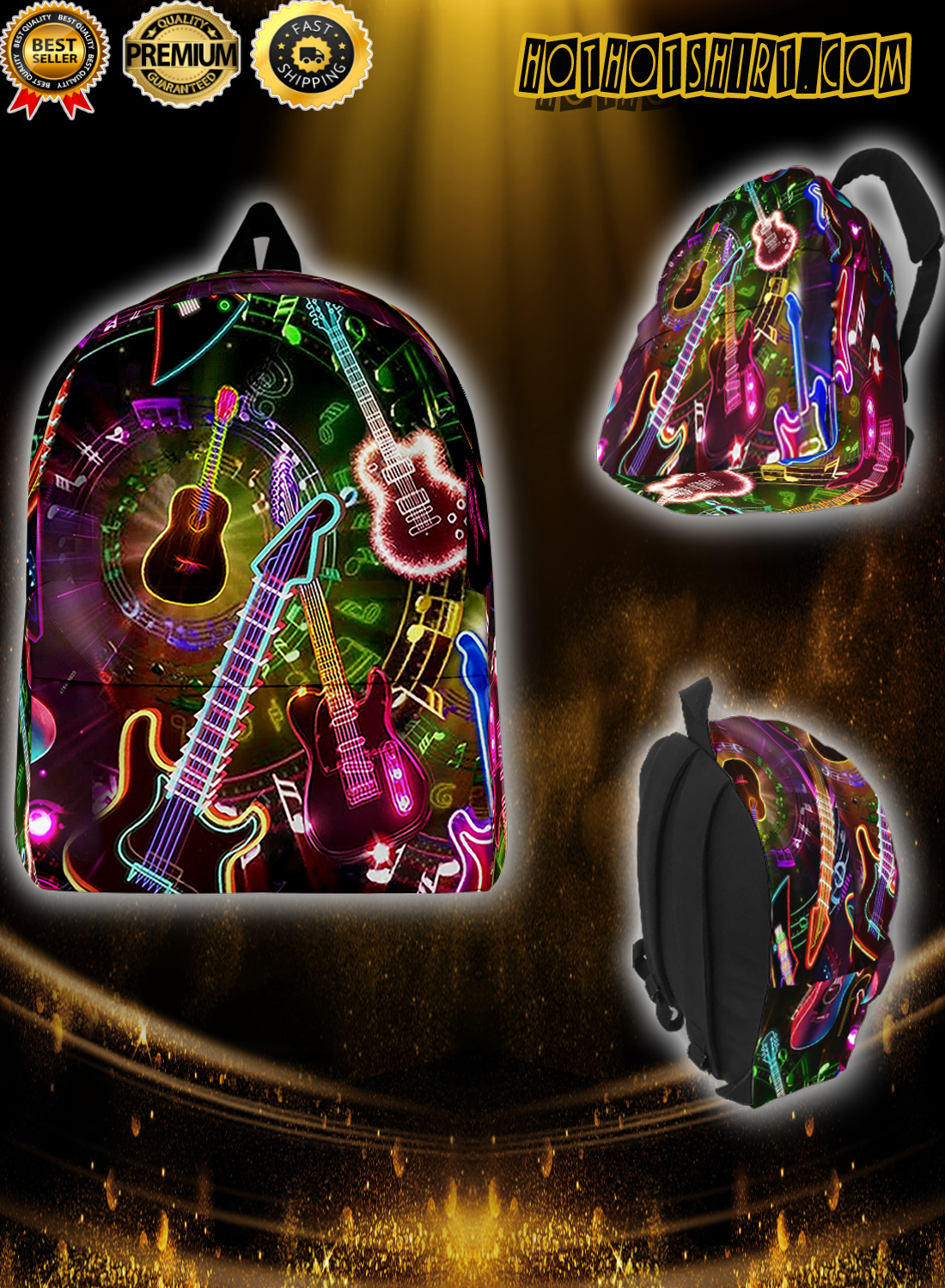 All you need is a guitar back pack