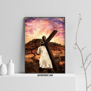 Jesus - faith in jesus canvas