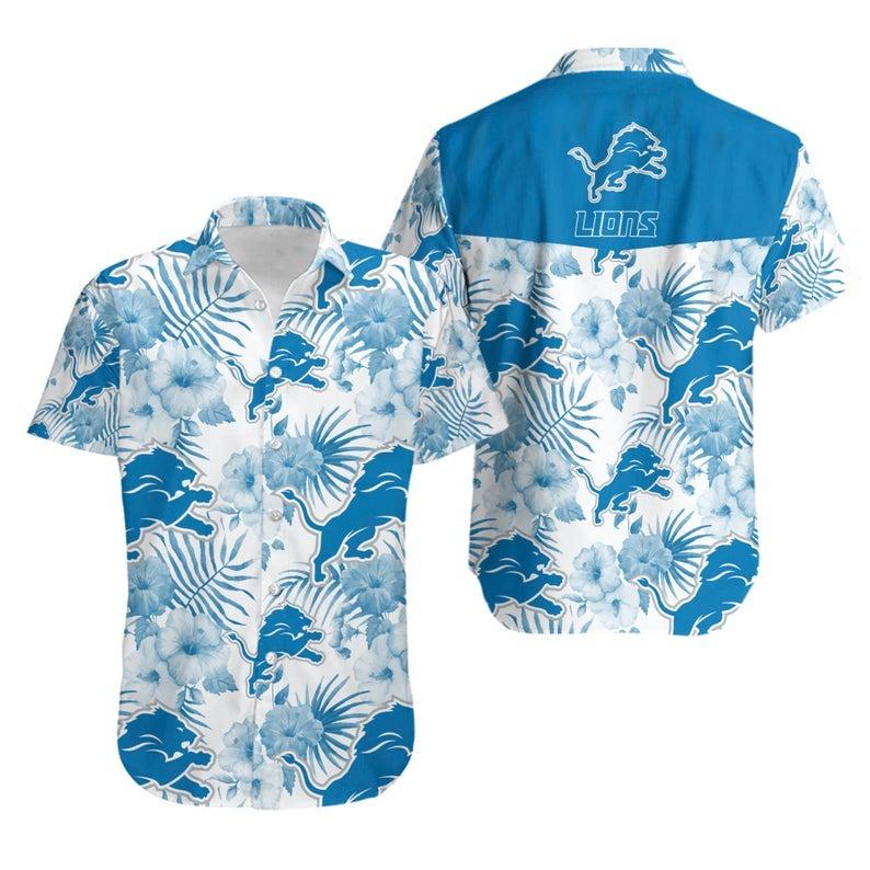 Detroit Lions NFL Hawaiian Shirt
