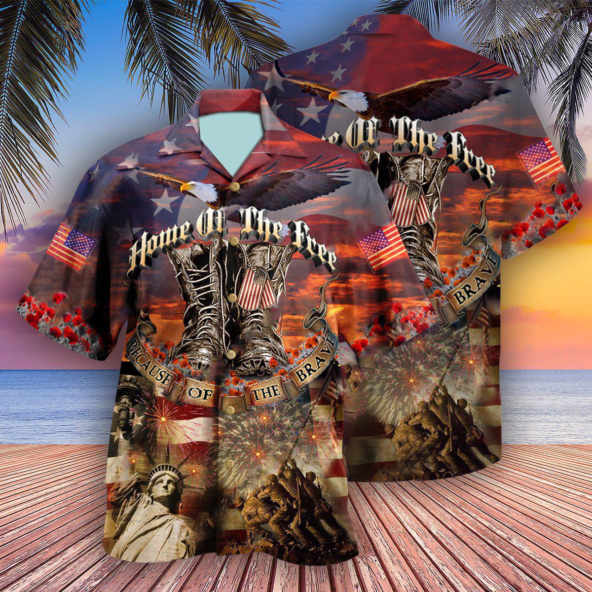 Veteran Proud To Be An Edition Hawaiian Shirt