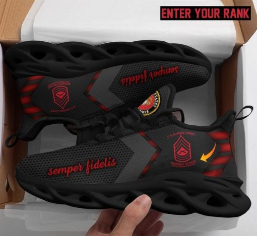 US marine max soul shoes sneaker customized rank
