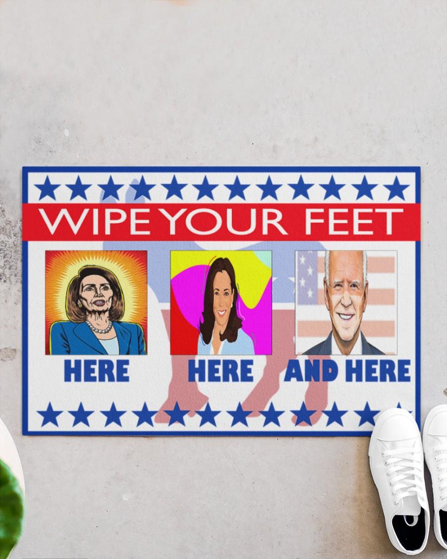 Wipe Your Feet Here Democrat Biden And Harris Doormat