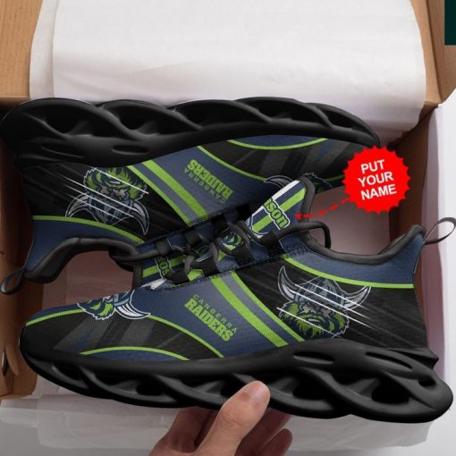 Personalized Name Canberra Raider Clunky Max Soul Sneaker