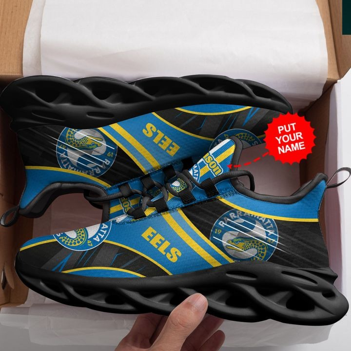 Personalized Name NRL Parramatta Eels Clunky Max Soul Sneaker