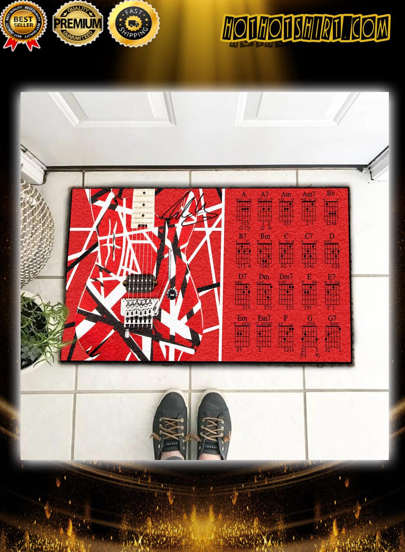 EVH Eddie Van Halen Guitar Doormat