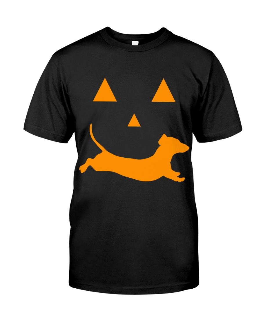 Dachshund Halloween Shirt Classic T-Shirt
