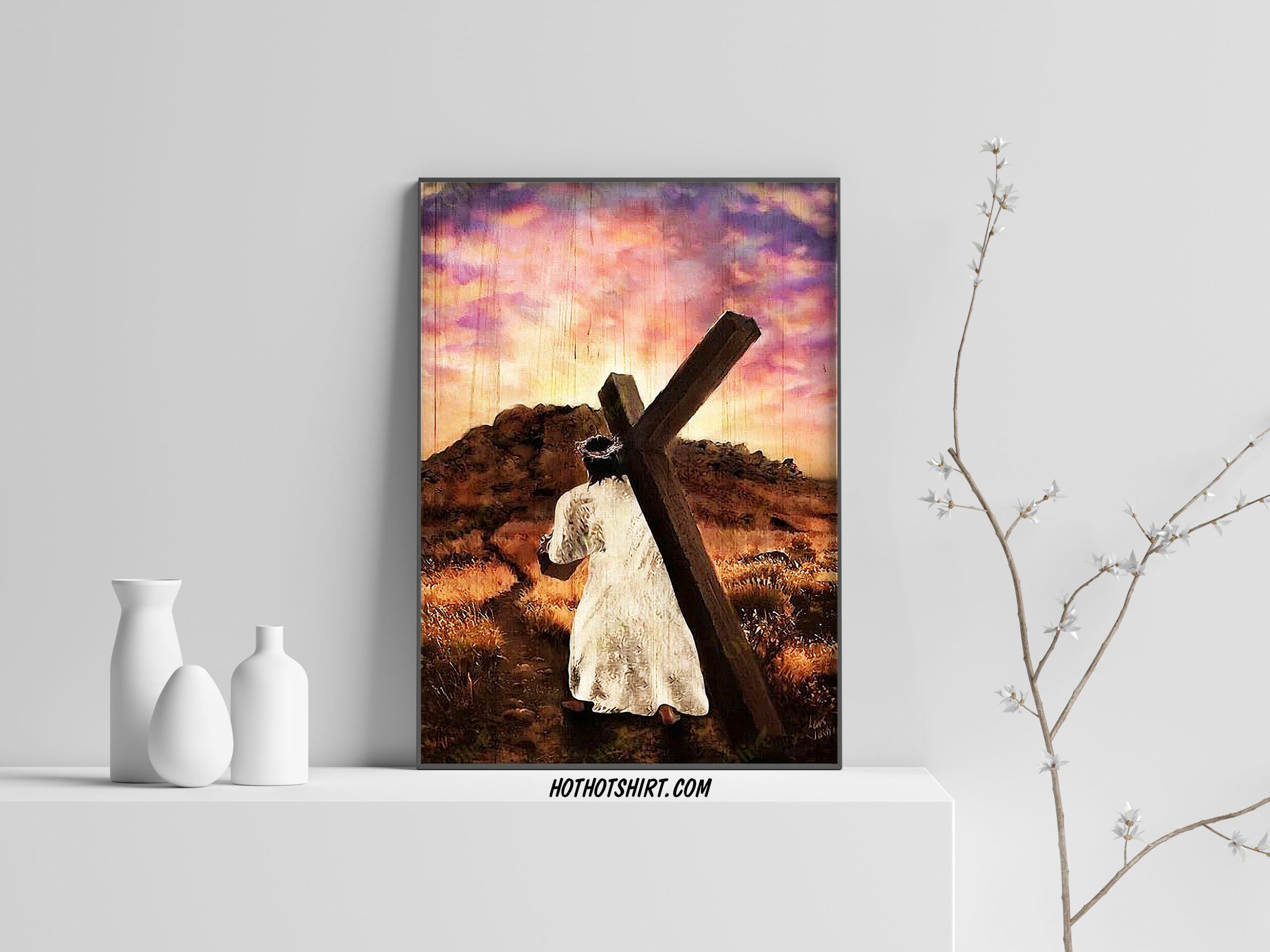 Jesus - faith in jesus canvas