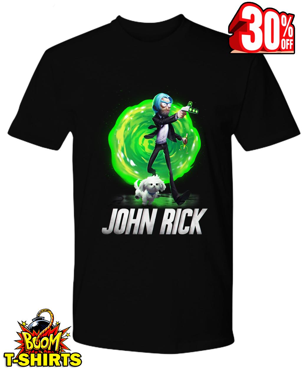 John Rick John Wick Rick and Morty shirt