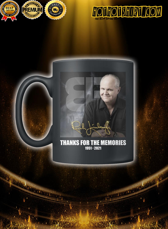 Rush Limbaugh Thanks for the memories Mug
