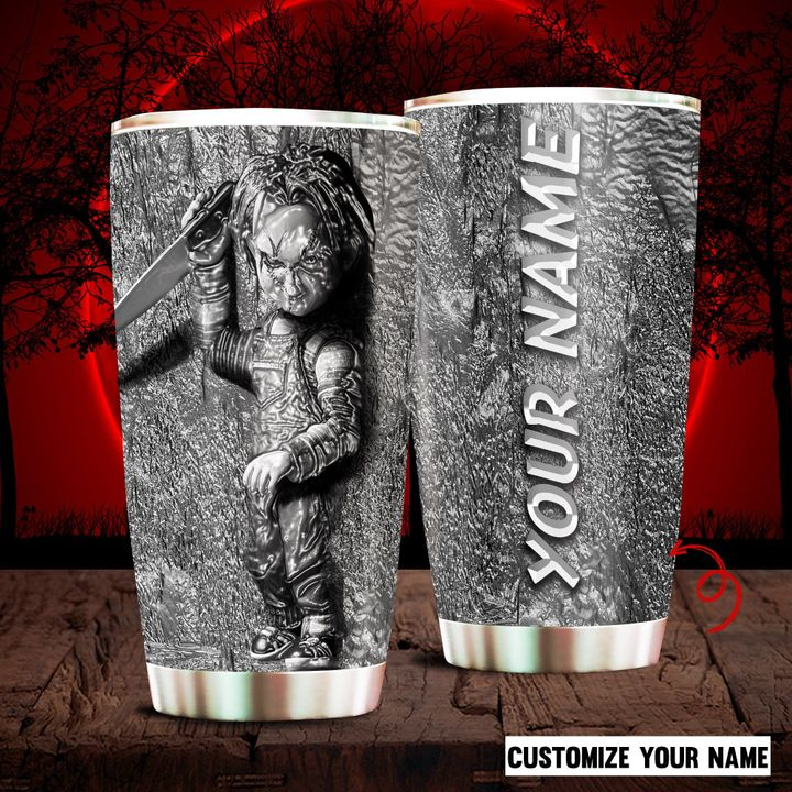 Custom-Name-Halloween-Chucky-Doll-Tumbler