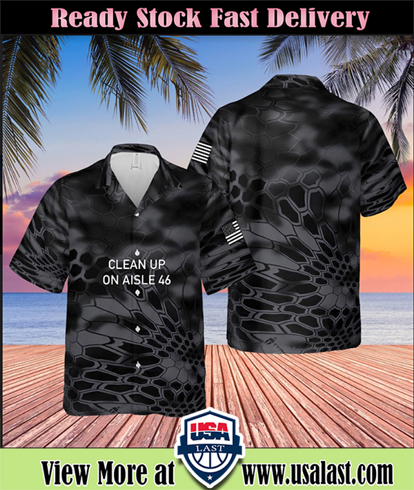 Clean up on aisle 46 hawaiian shirt