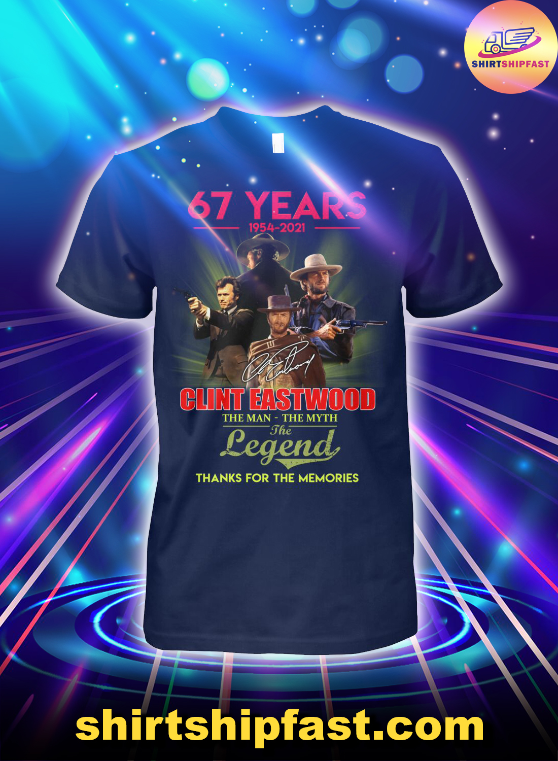 67-years-Clint-Eastwood-The-man-the-myth-the-legend-shirt