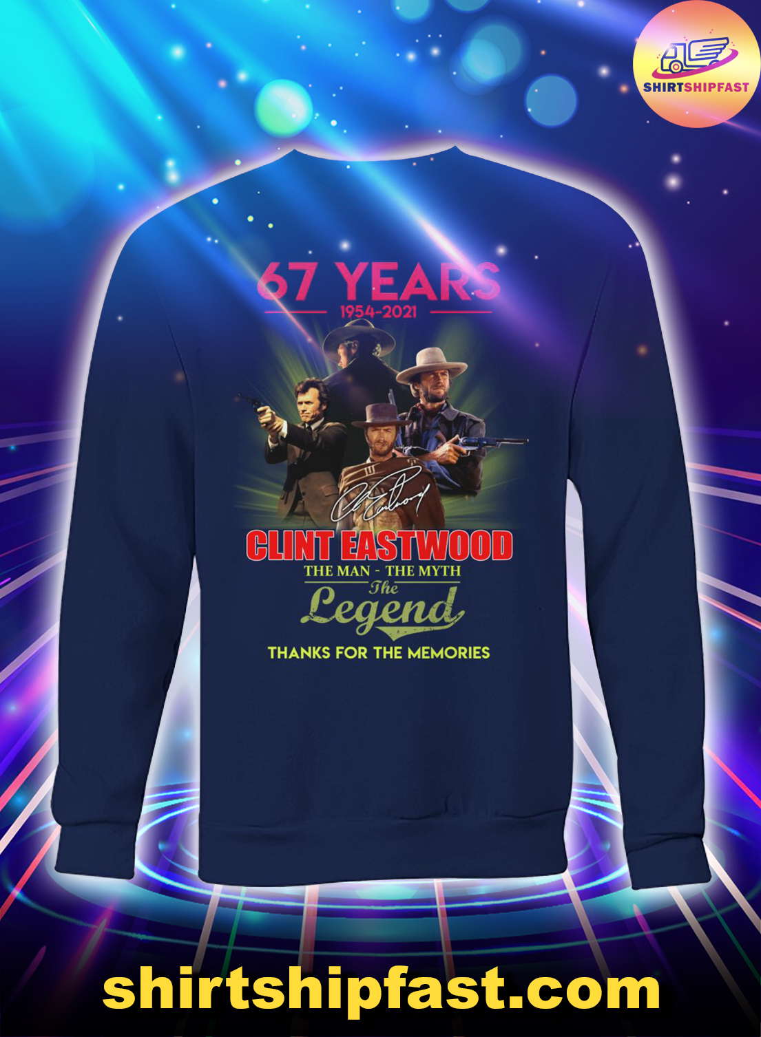 67-years-Clint-Eastwood-The-man-the-myth-the-legend-sweatshirt