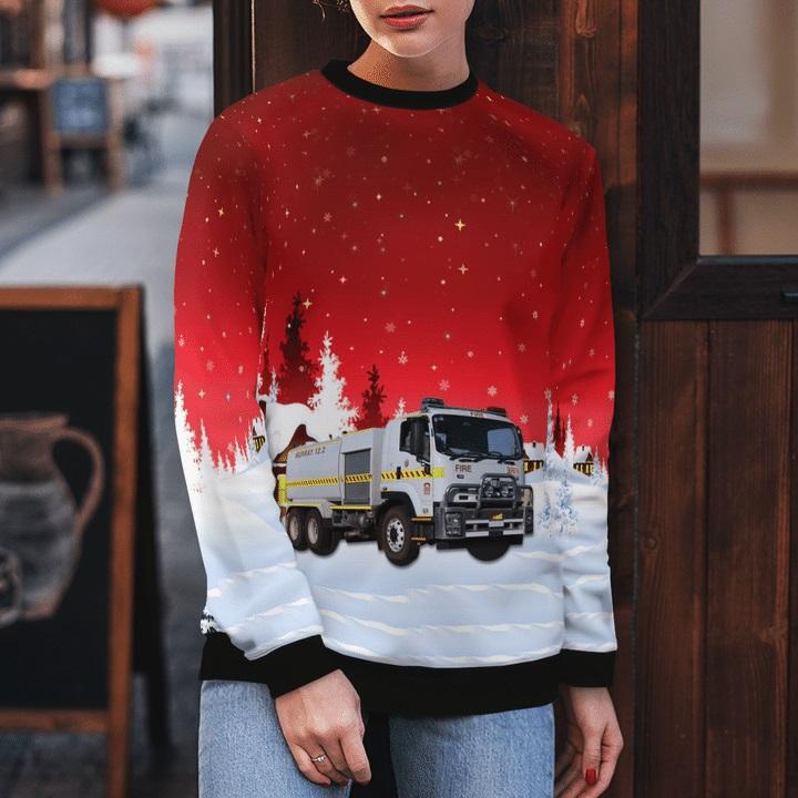 Bush-Fire-Service-Isuzu-12.2-Bulk-Rural-Tanker-Ugly-Christmas-Sweater-2