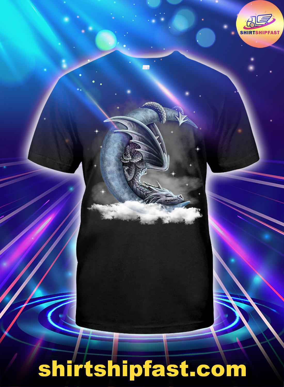Dragon-sleeping-with-moon-shirt