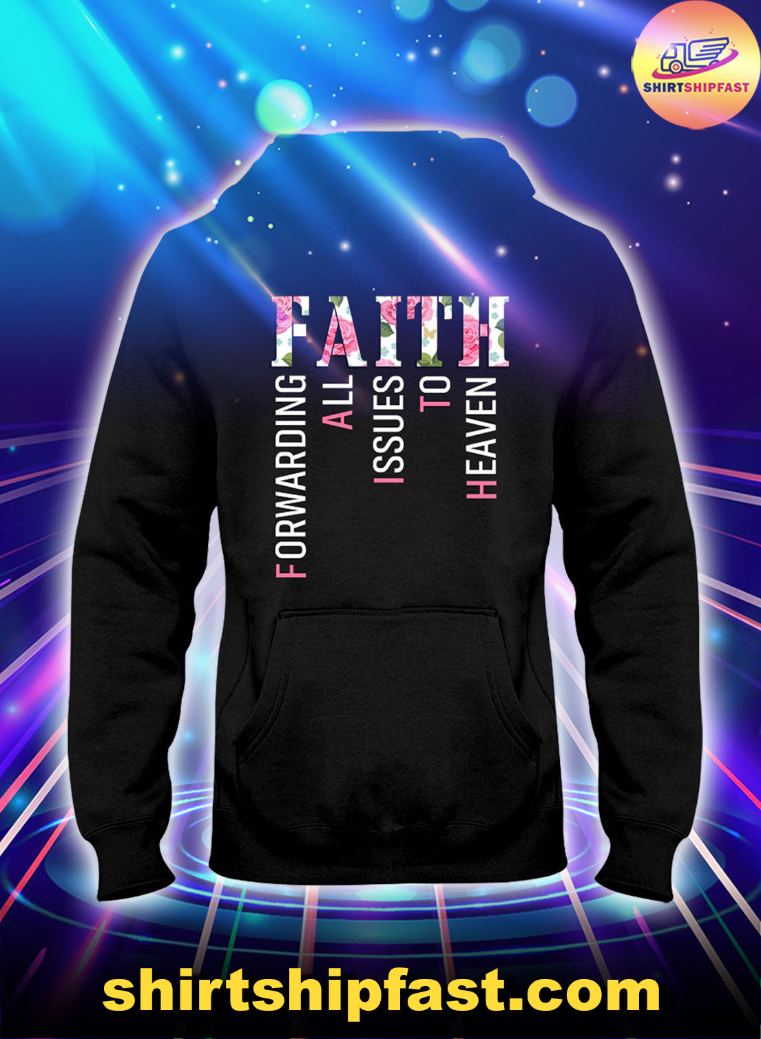 Faith-forwarding-all-issues-to-heaven-floral-hoodie-2