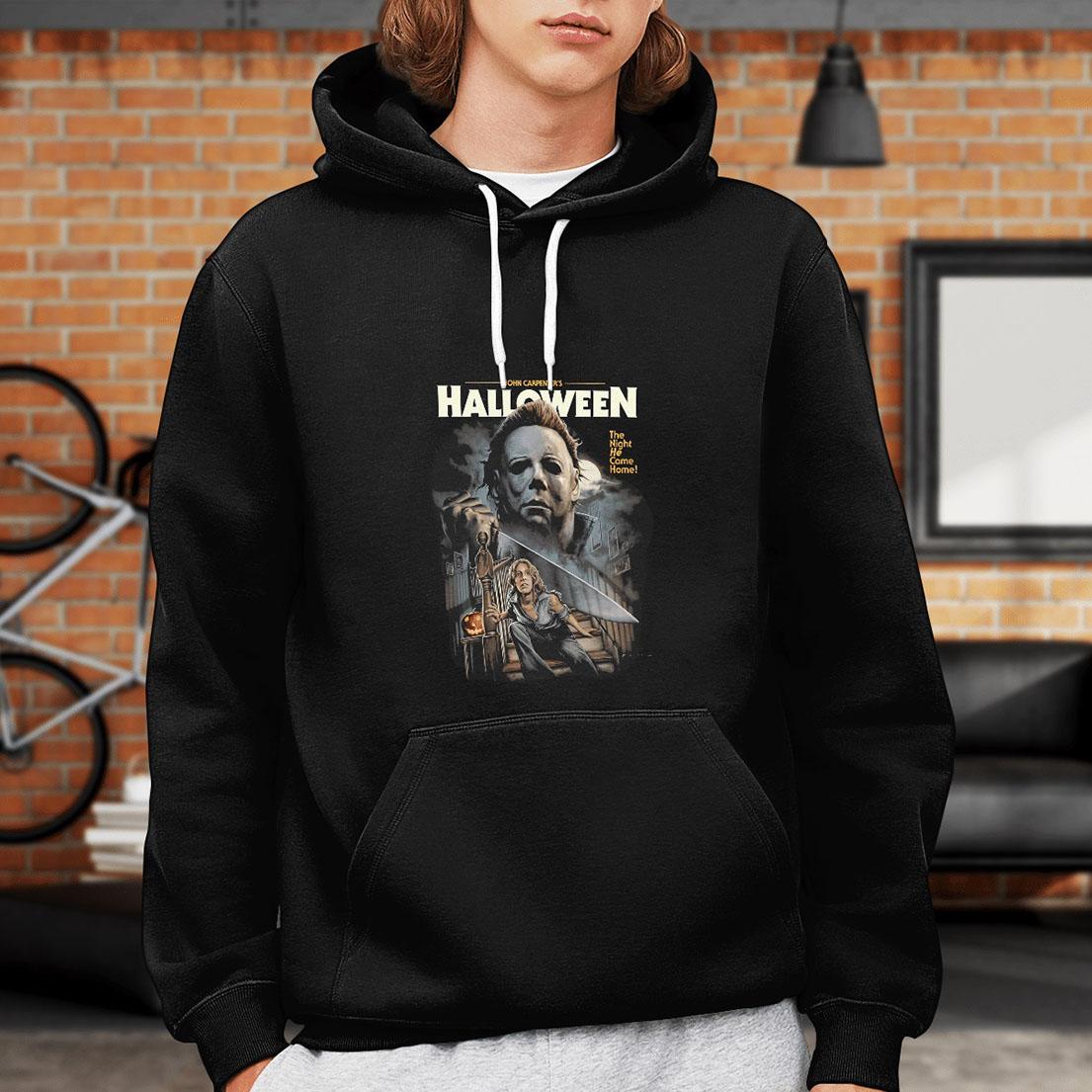 John-Carpenters-halloween-The-night-he-came-home-hoodie -1