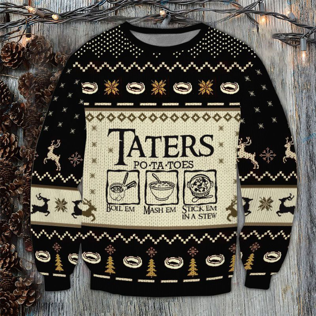 Lord-of-the-Rings-Taters-Potatoes-Sweater - 1