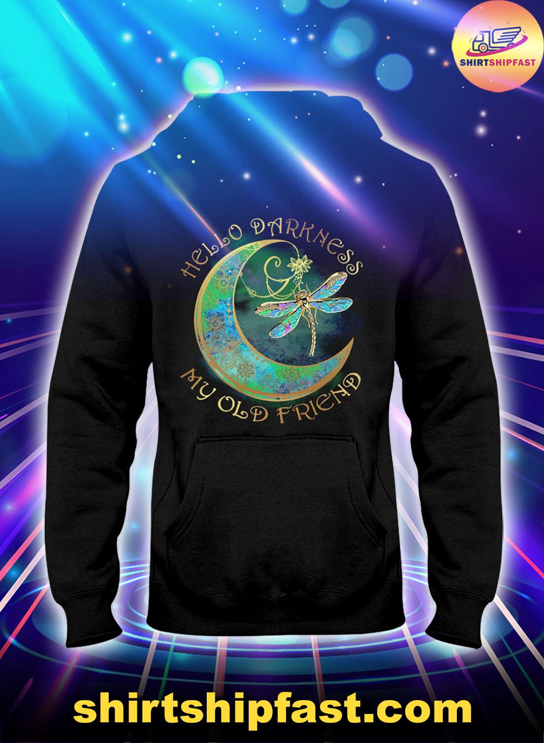 Moon-Dragonfly-Hello-darkness-my-old-friend-hoodie-1