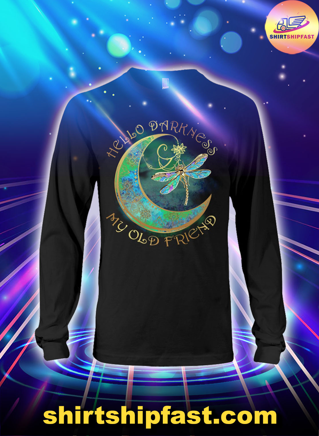 Moon-Dragonfly-Hello-darkness-my-old-friend-long-sleeve-tee-2