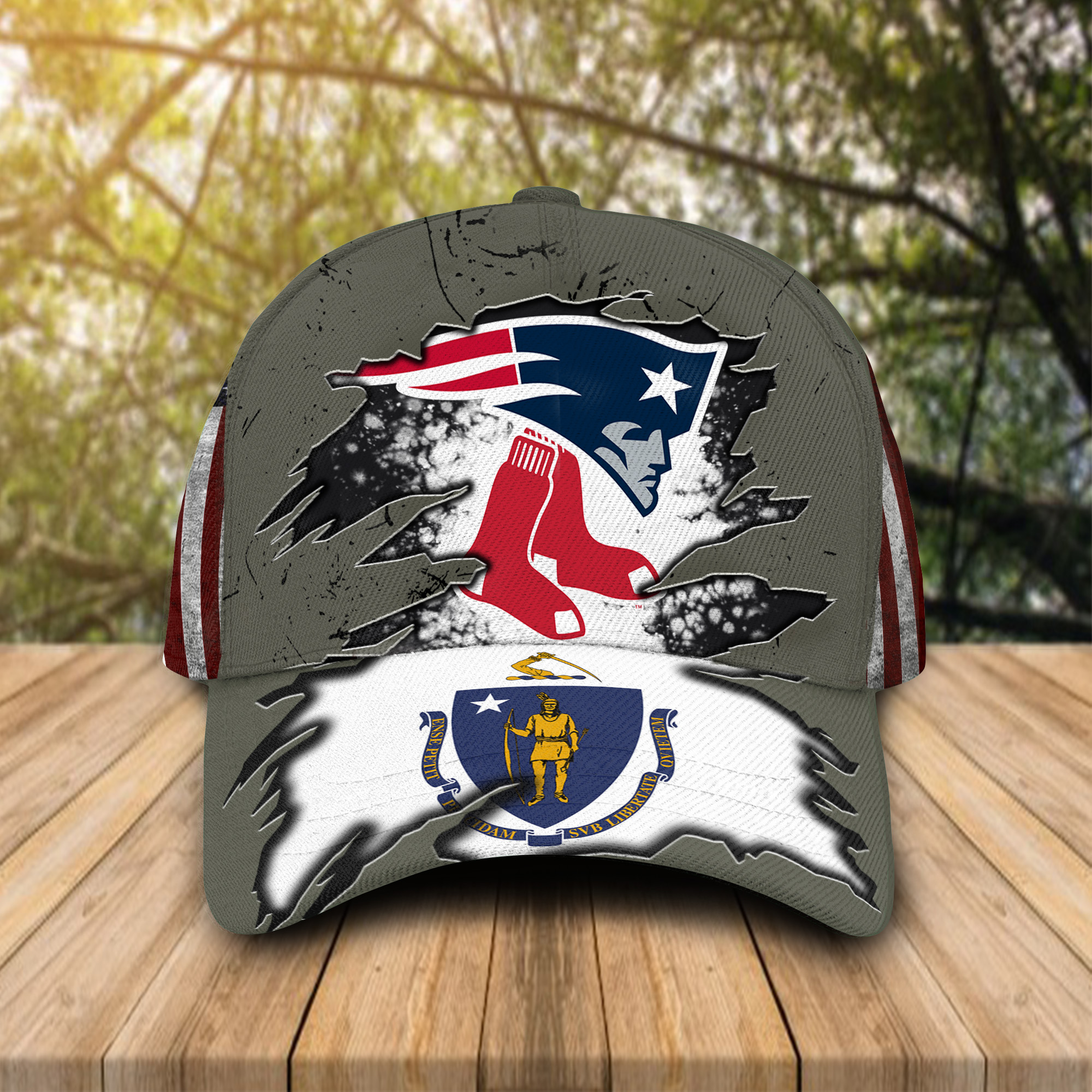 New England Patriots And Boston Red Sox Caps & Hats