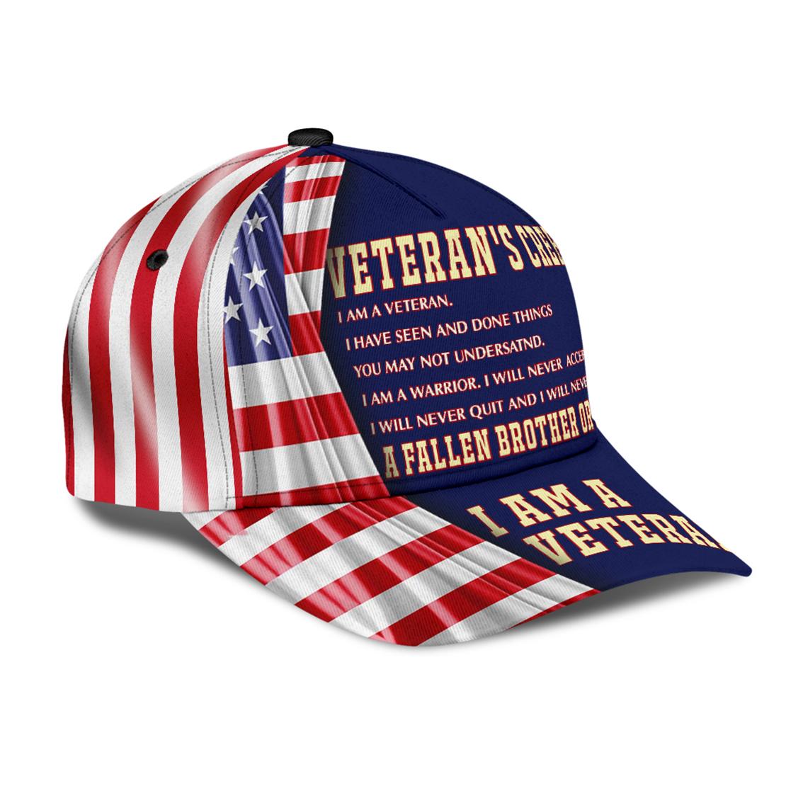 Veterans-creed-I-am-a-veteran-American-flag-cap-hat2